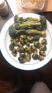 One of my favorite treats are roasted brussel sprouts.